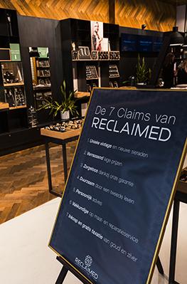 7 Claimes van Reclaimed