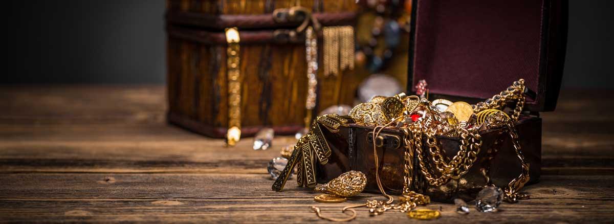 Reclaimed inkoop goud- en zilveren sieraden